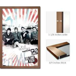 Bronze Framed Big Time Rush Any Guy Poster 5656: Home