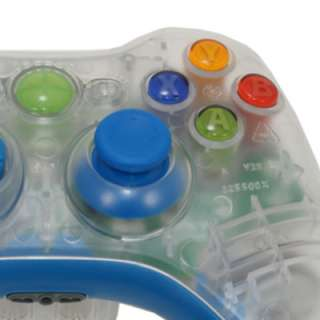 MadModz Clear & Cool Blue XBOX 360 Controller Kit