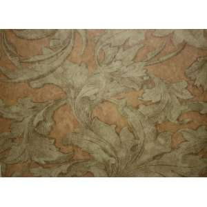 Acanthus Leaf Swirl Wallpaper