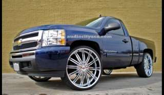 28inch Rims Chevy Ford,Escalade GMC Ram F150 H3 Wheels