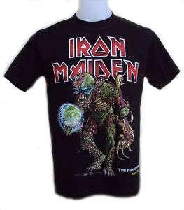 Iron Maiden Final Frontier World Tour T Shirt FreeGift
