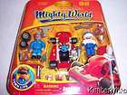 Mighty World RACE DAY Town Life Car Driver Mechanic 4+ Boy Toy