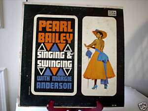 33 RPM RECORD/1) PEARL BAILEY SINGING & SWINGING
