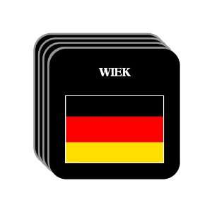 Germany   WIEK Set of 4 Mini Mousepad Coasters