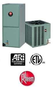 Ton 15 Seer Rheem Heat Pump System   15PJL36A01   RHLLHM3617JA