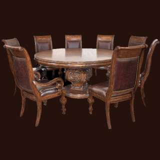 Solid Wood Dining Table and 8 Chairs  Your Dreams Just Came True