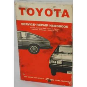 Mark II, Celica, Carina, Cressida & Pickups: Clymer Publication: Books