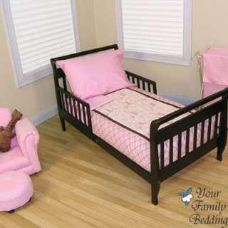 Baby Girl Toddler Pink Guitar Music Bedding Crib Set