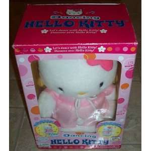 Pink and White Dancing Hello Kitty Toys & Games