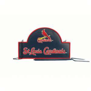 ST. LOUIS CARDINALS ~ MLB ESTATE MAILBOX LAWN SIGN