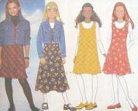 Girls Jacket Jumper Sewing Pattern 4651 New Unlined