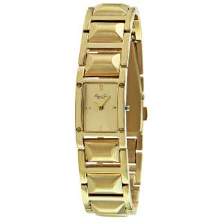 Kenneth Cole New York Womens Analog Gold Dial & Stainless Steel Watch