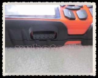 New Orange Land Rover Unbreakable JAVA /4 Waterproof Sport Mobile