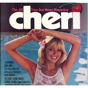 CHERI (SEPTEMBER 1978 ANNIE SPRINKLES) CHERI MAGAZINE Books