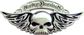 HARLEY DAVIDSON WILLIE G WINGED DEATH SKULL PIN ** NEW IN PACKAGE