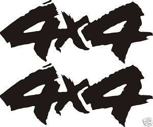 4x4 Off Road Decals GMC Ford Dodge Chevy Sticker RAM #2