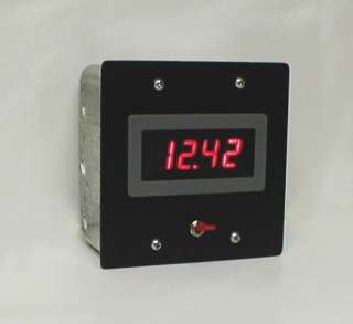 dc digital 30 volt meter for wind turbine generator or solar panels