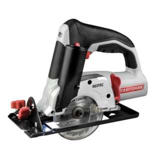 Craftsman Nextec 12 Volt Lithium Ion 61325 Circular Saw 3 3/8 IN