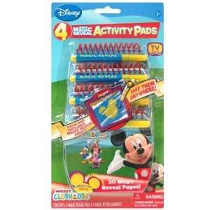 Mickey Mouse Clubhouse Magic Reveal Activity Pads