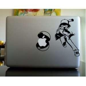 Apple Macbook Vinyl Decal Sticker   Ash Pokemon