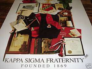 Kappa Sigma Fraternity Collage High Quality Poster BOGO