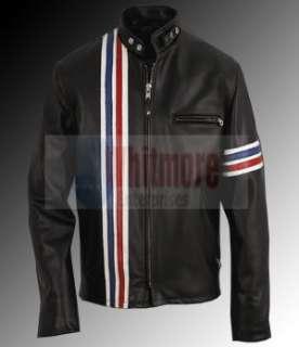 Easy Rider Peter Fonda Captain America Motorcycle Biker Black Original