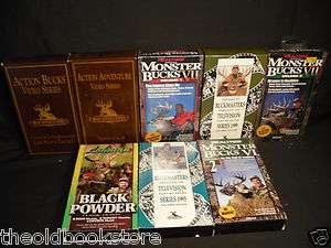 Buckmaster Whitetail Deer MONSTER Bucks Hunting Videos Lot#3