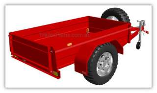 DIY Box Trailer Plans   6x4, 7x4, 7x5ft Trailer Design |
