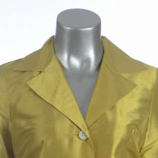 Sutton Studio Womens Silk Dupioni Blazer Big Shirt