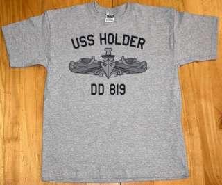 US USN Navy USS Holder DD 819 Destroyer T Shirt
