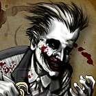 Heath Ledger as Joker knife original art 11x17 batman