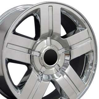 20 Rim Fits Chevrolet Texas Wheel Chrome 20x8.5