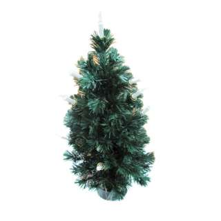 90cm Fiber Optic Christmas Tree candle 35.4inch Merry Xmas bling home