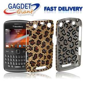 Bling Diamond Back Case Cover FOR Blackberry Curve 9360 + SP
