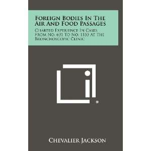 Foreign Bodies In The Air And Food Passages: Charted