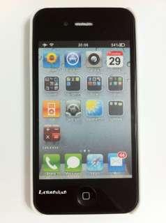Apple Iphone 4 4G Blue Elephant Pattern Hard Case Cover