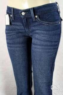 JEANS Crystal Blue Stretch Genuinely Crafted Studded Back Pocket Pants