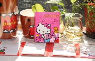 Hello Kitty Post It Sticky Memo 4Different Pattern PINK
