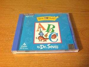 LIVING BOOKS DR SEUSS ABC PC MAC CD ROM