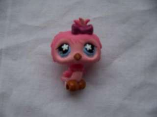 PET SHOP circus monkey bird weasel animals GUC play toys LPS htf kids