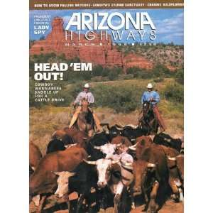 WANNABEES SADDLE UP FOR A CATTLE DRIVE) ARIZONA HIGHWAYS MAGAZINE