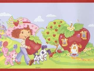 Peel & Stick Strawberry Shortcake Wallpaper bordeR Wall