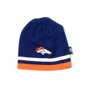 Denver Broncos NFL Reebok Team Apparel Stripe Youth Knit