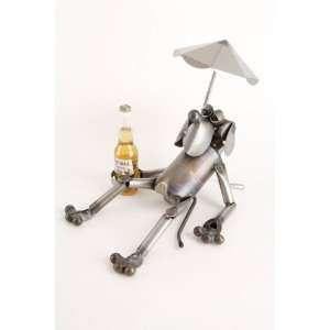 Retired Dog Recycled Scrap Metal Sculpture Everything Else