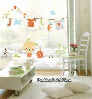 SWST 42 Puppys Sunny Day, DIY Wall Sticker Decal KIDS