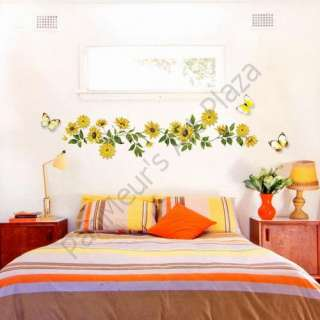 UDP 03 Sunflower, Decals Home Art Decor Wall Sticker