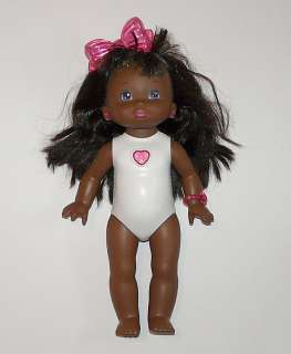 vtg PJ Sparkles black African American baby doll Mattel 1988 lights up