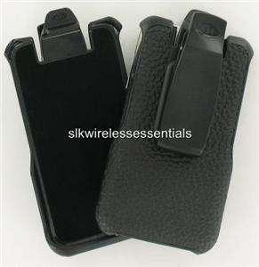 New Original OEM AGF Genuine Hard Leather Holster Belt Clip For iPhone
