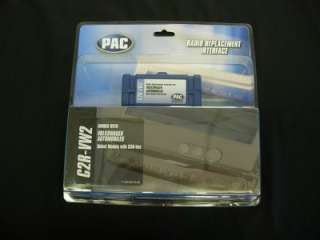 PAC C2R VW2 RADIO REPLACEMENT INTERFACE CAN BUS VW