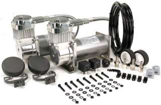 Viair Dual 200 PSI Compressors Air Ride Suspension Kit